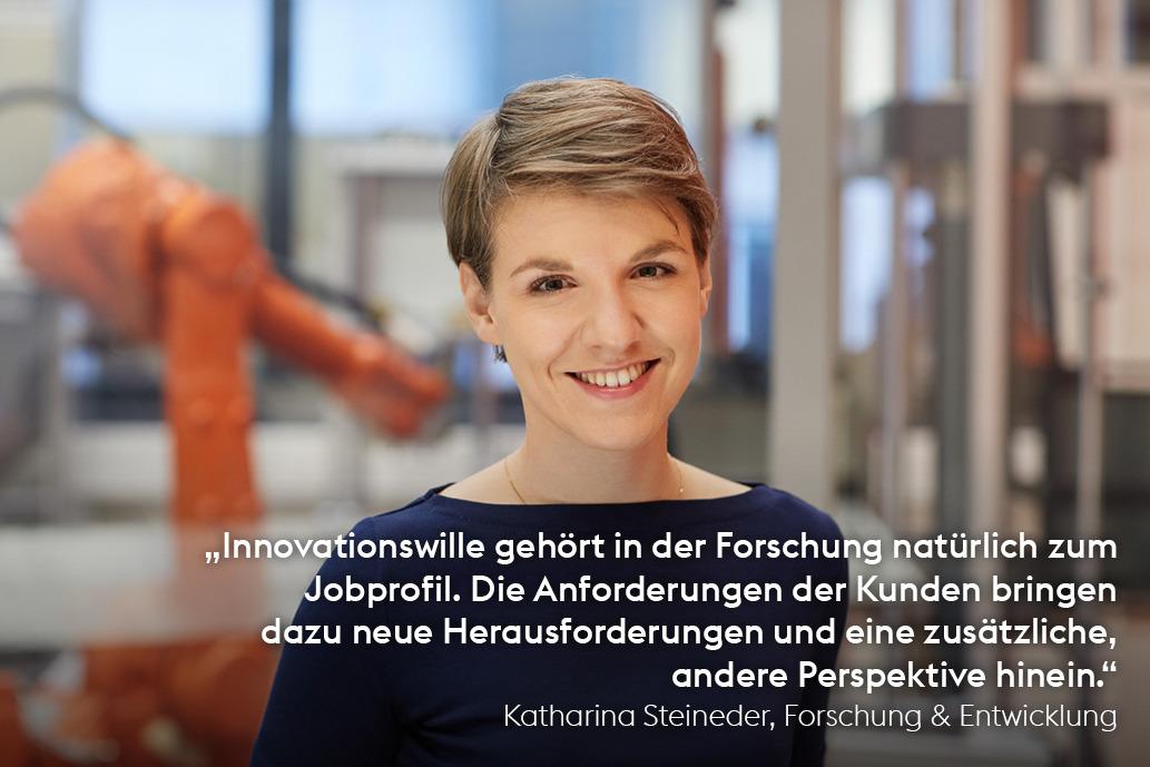 Katharina Steineder, Forschung & Entwicklung, voestalpine