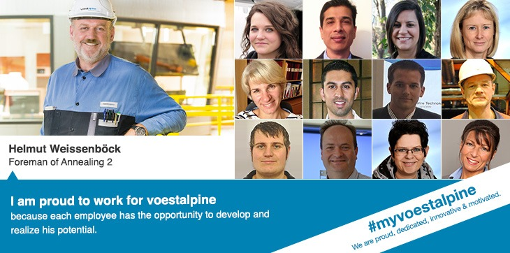 Working at voestalpine