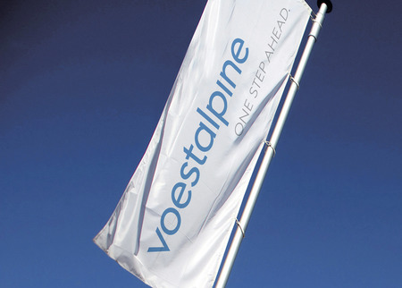 voestalpine new brand - Flag