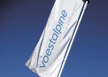 voestalpine neue Marke (Fahne)