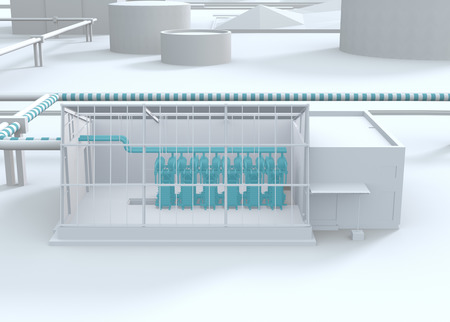 H2FUTURE Hydrogen Plant