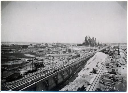 Blast Furnaces in Linz (1942)