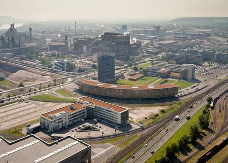 Luftaufnahme Konzernzentrale Linz