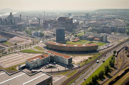 Luftaufnahme Standort Linz