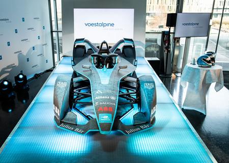 voestalpine's FIA Formel E Gen2 car