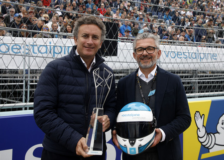 Alejandro Agag (Vorsitzender Formel E) & CEO Herbert Eibensteiner