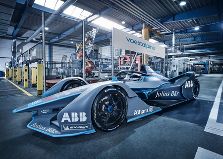 voestalpine's FIA Formula E Gen2 Auto