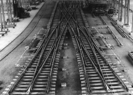 voestalpine Railway Systems history - Turnout assembly plant 1926