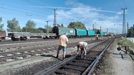 turnouts for freight traffic