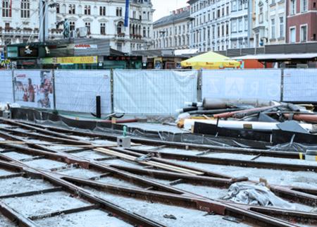 Graz Linien tram project