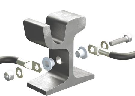 Double sided rail plug SDK02