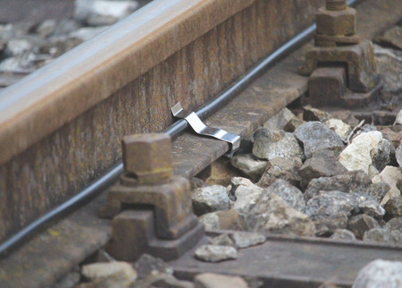 Rail foot clamp