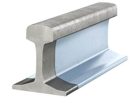 Coated rail