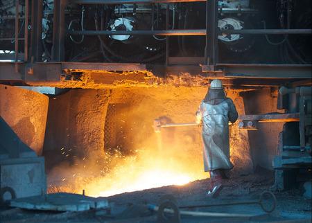 Stahlarbeiter