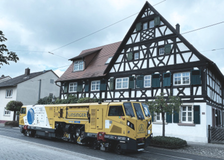 Mobile rail milling with MG11 in urban cities
