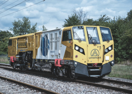 Mobile rail milling with MG11