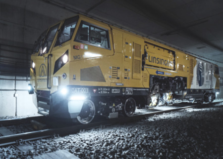 Mobile rail milling with MG11 in the metro