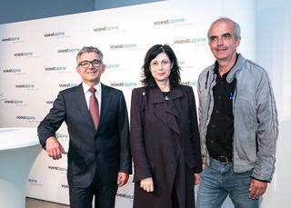 Herbert Eibensteiner , Eva Schlegel und Martin Sturm
